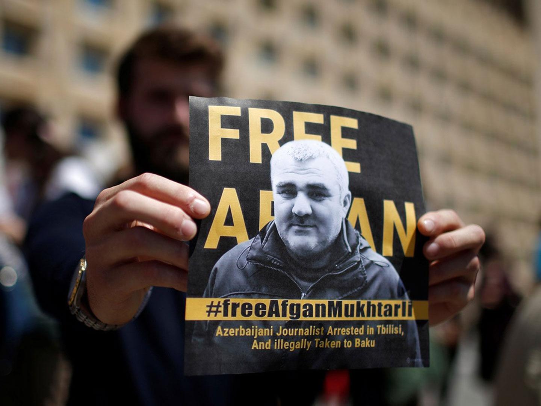 afgan #общество Азербайджан, Азербайджанский журналист, Афган Мухтарлы, Грузия, Мухтарлы