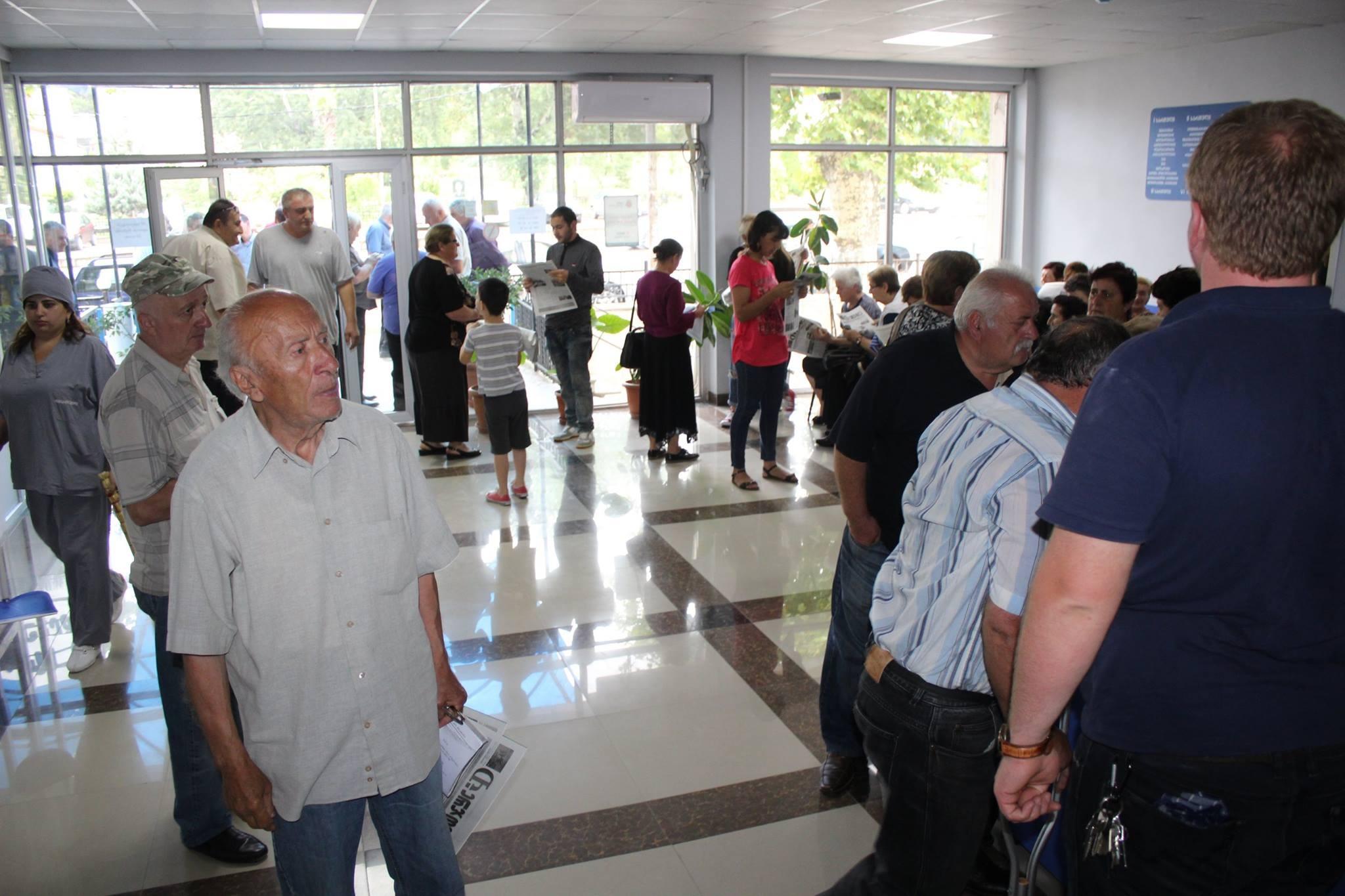 Жители оккупированных регионов стали чаще обращаться в больницы Тбилиси