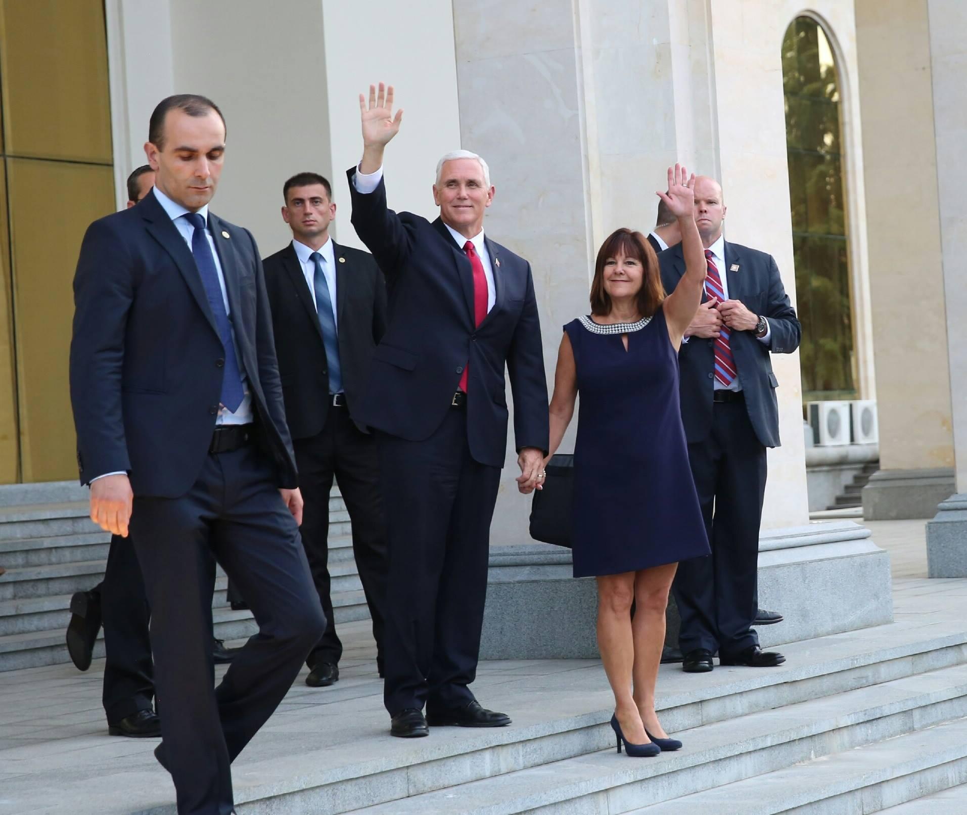 20424123 494665454211817 6297365957168201055 o #новости featured, визит, вице-президент США, Грузия, Майк Пенс