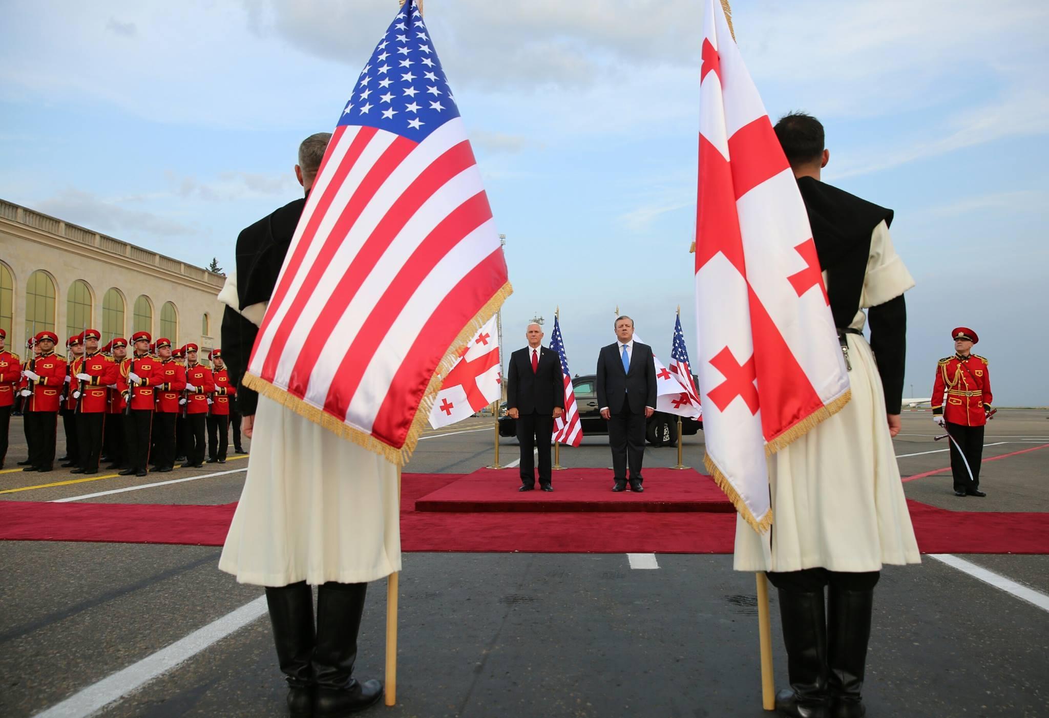 20451710 10203763824771606 8971525370863621568 o #новости featured, визит, вице-президент США, Грузия, Майк Пенс