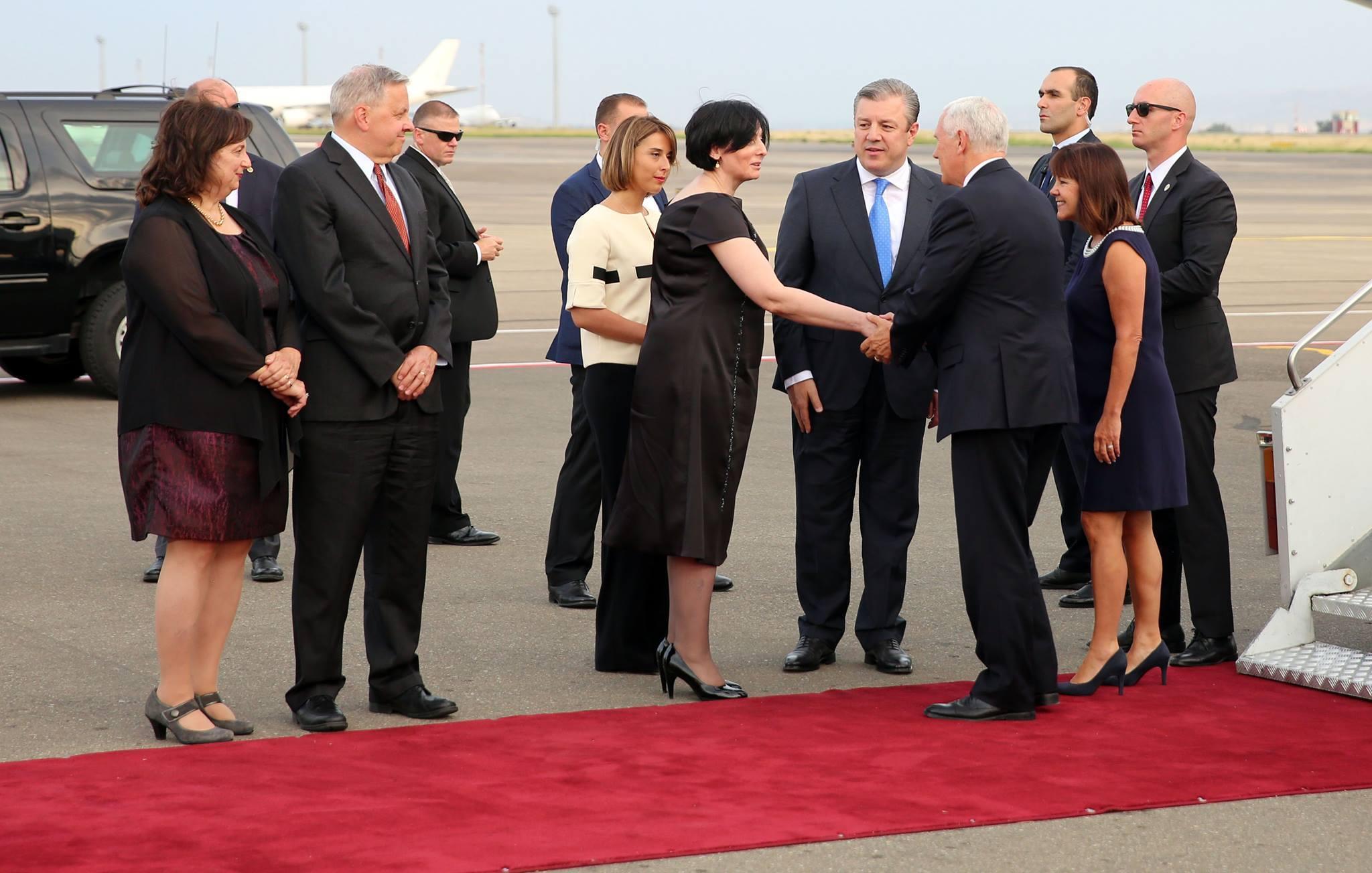 20451987 10203763824371596 7628063468491709720 o #новости featured, визит, вице-президент США, Грузия, Майк Пенс