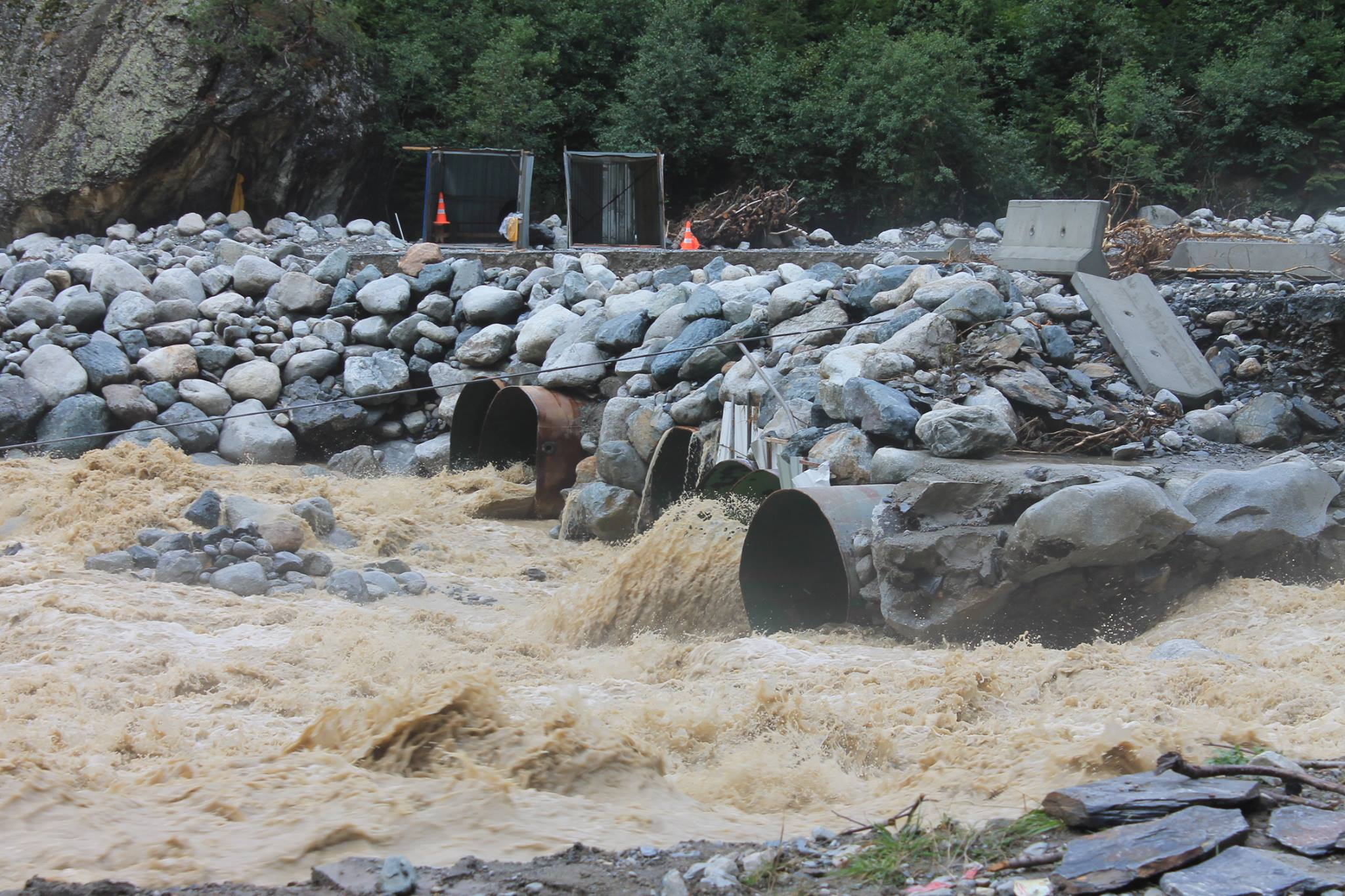 sva3 #новости затопления, местия. реки