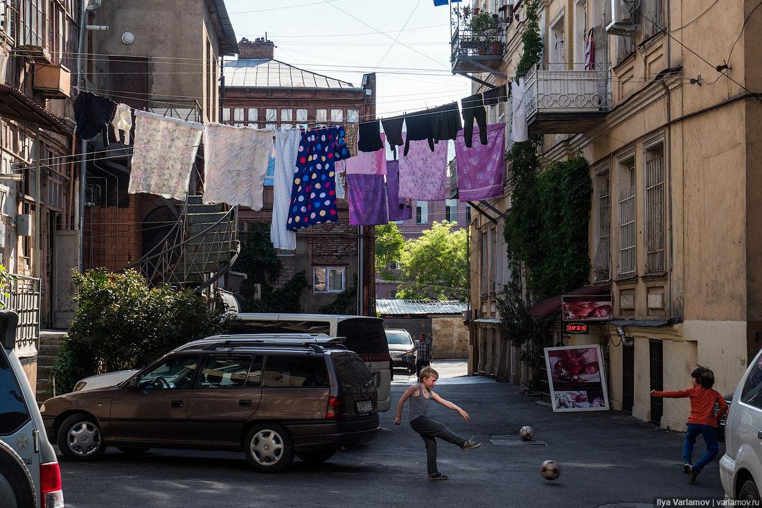 Отток населения из Грузии в 2017 году составляет около 50 тысяч
