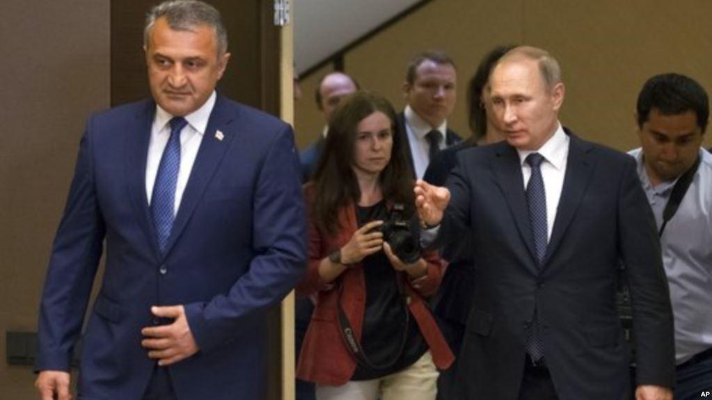 Путин проведет встречу с де-факто лидером Южной Осетии