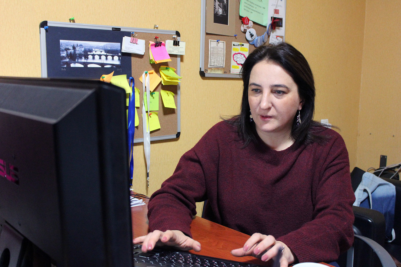 Елена Русецкая, директор Женского информационного центра