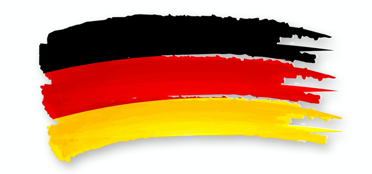 German Flag мигранты мигранты