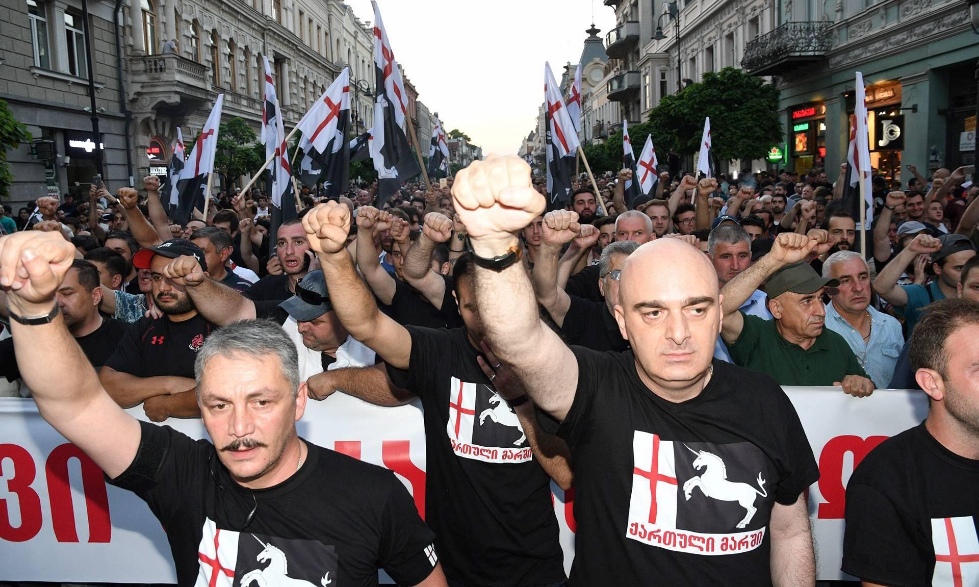 The Georgian march голодовка голодовка
