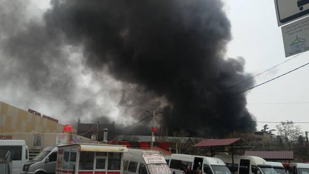 #новости Кировский завод, пожар, тбилиси