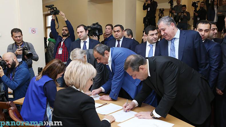 Armenia 3 #новости Армен Саркисян, Армения, выборы, президент, Серж Саргсян