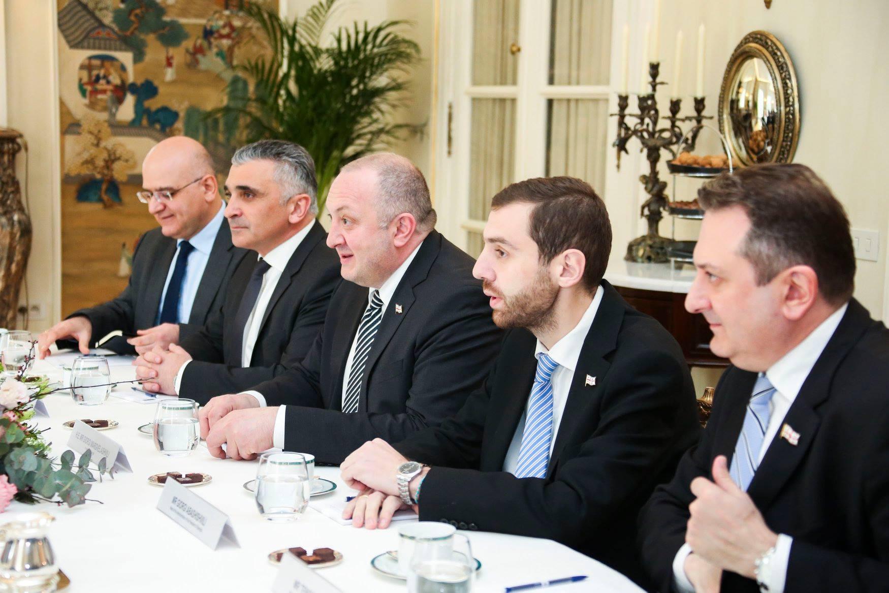 Margvelashvili Stoltenberg 4 #новости брюссель, Георгий Маргвелашвили, Грузия, Йенс Столтенберг, НАТО, саммит