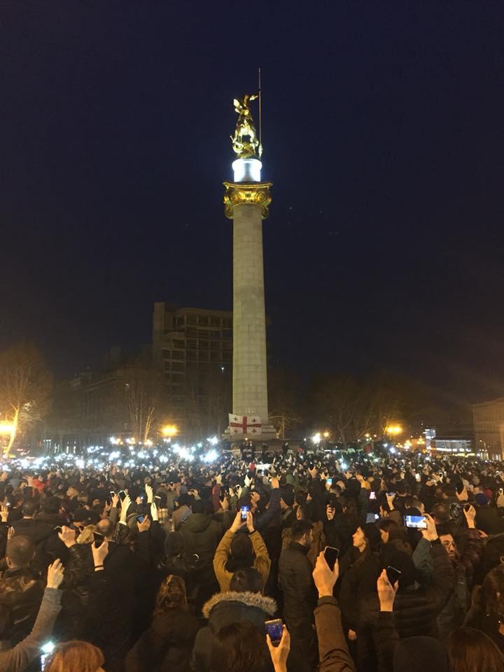 Peace War 4 #новости Грузия, оккупация, Цхинвали, Южная Осетия, არჩილ ტატუნაშვილი