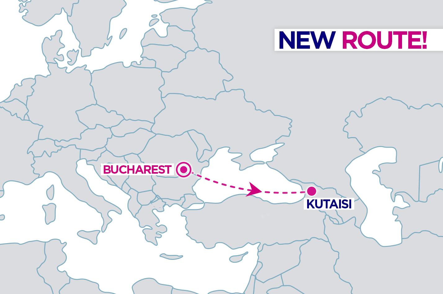 30073445 1634449629965783 3322944148342774118 o #новости Wizz Air, wizzair, Бухарест, Грузия, Кутаиси, Кутаисский аэропорт, рейс, Румыния