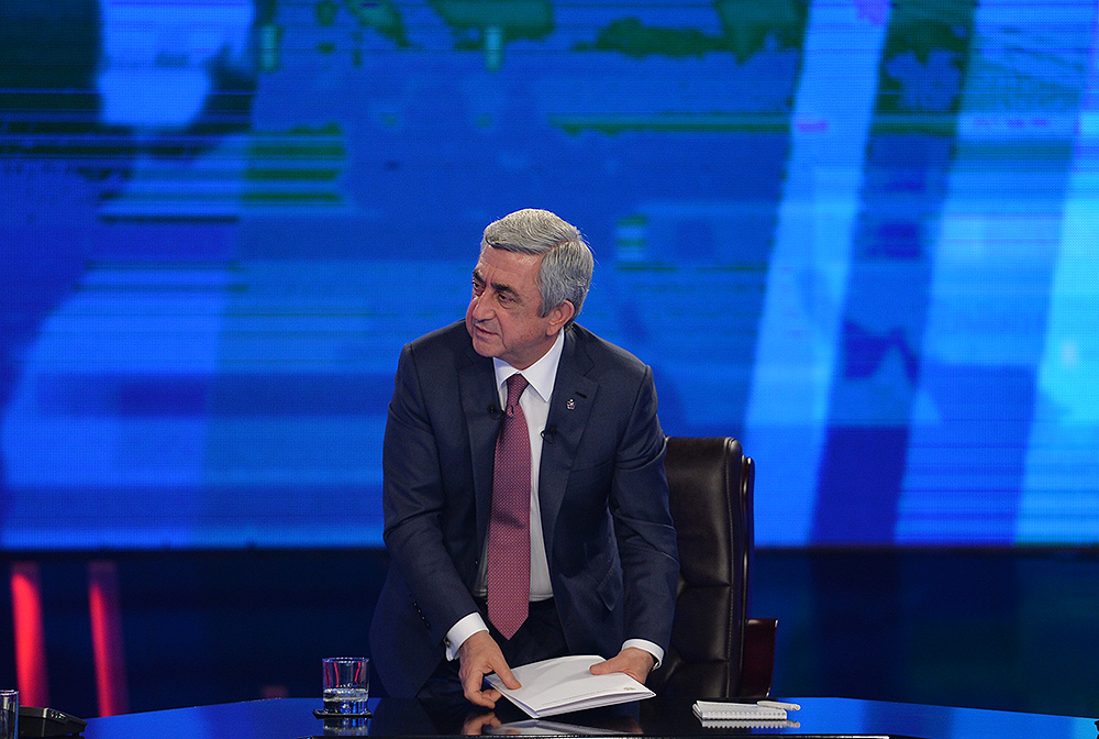 Serj Sargsyan Карен Карапетян Карен Карапетян