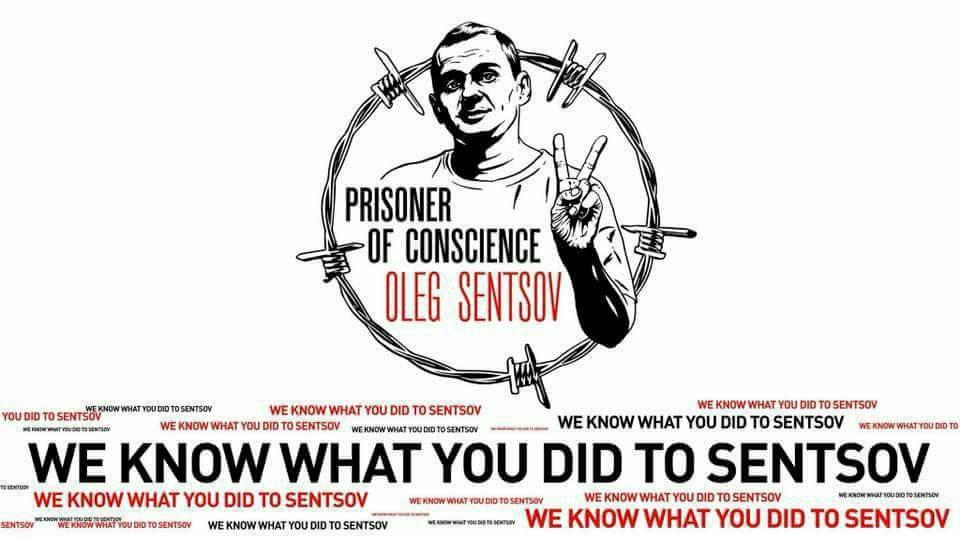 В Тбилиси пройдет акция в поддержку Сенцова
