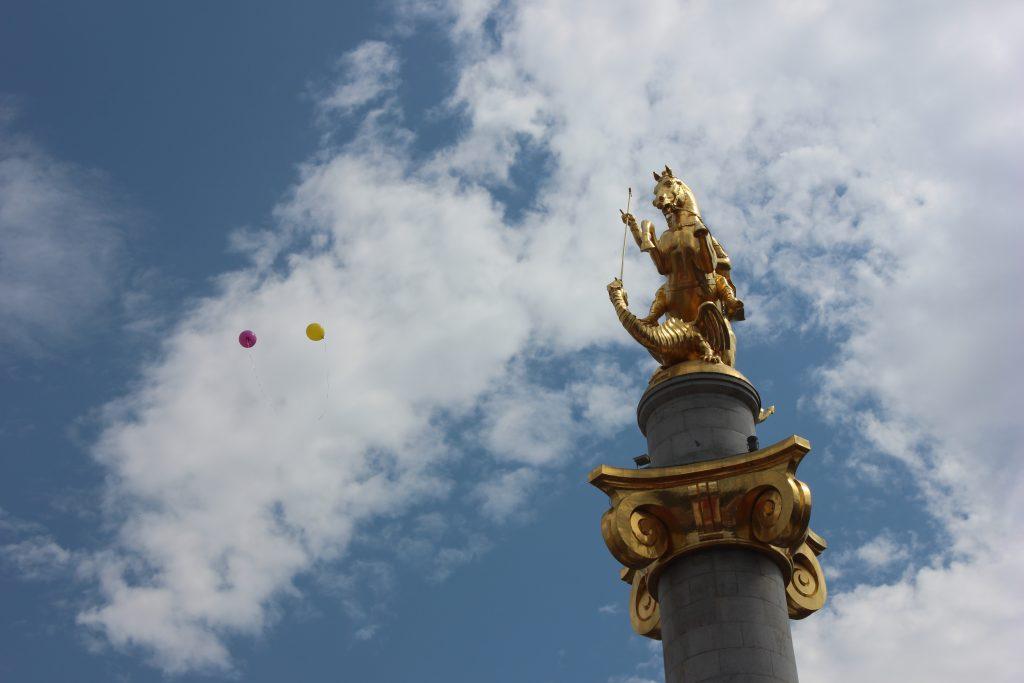 День независимости Грузии и 100-летие Первой республики. Фото: СОВА