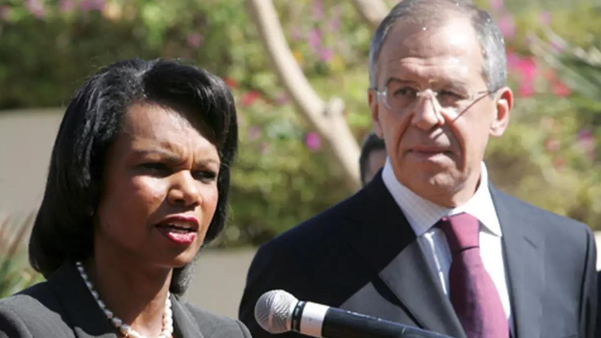 Condoleezza Rice Sergey Lavrov 1 Джордж Буш Джордж Буш