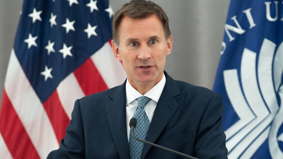 Jeremy Hunt Крым Крым