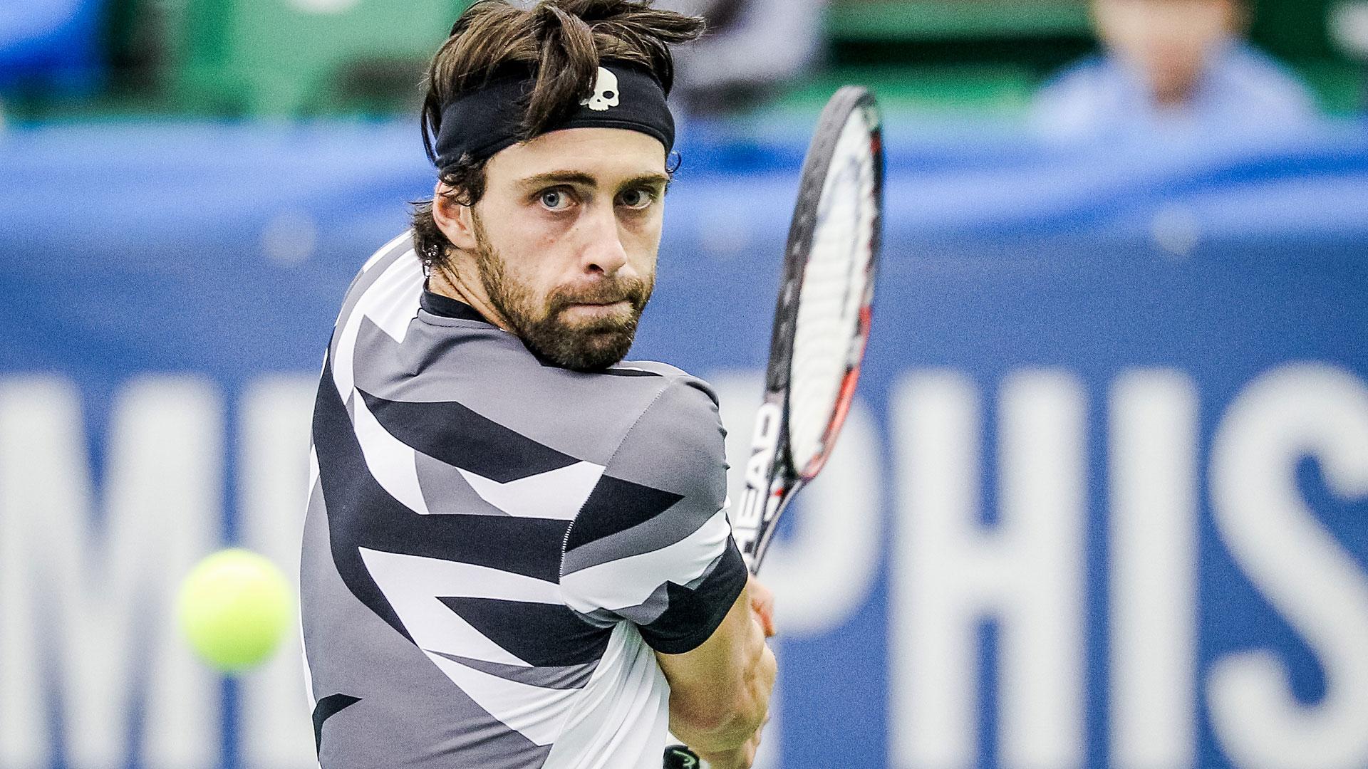 Nikoloz Basilashvili #новости грузинский теннисист, Николоз Басилашвили, Ролан Гаррос