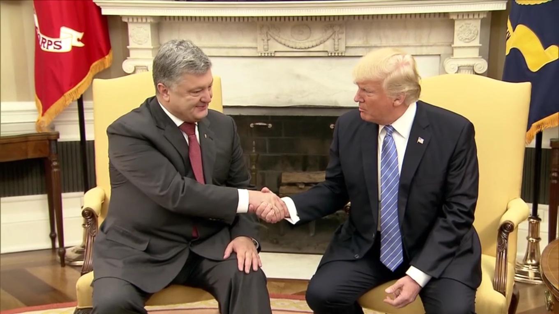 Poroshenko Trump Крым Крым