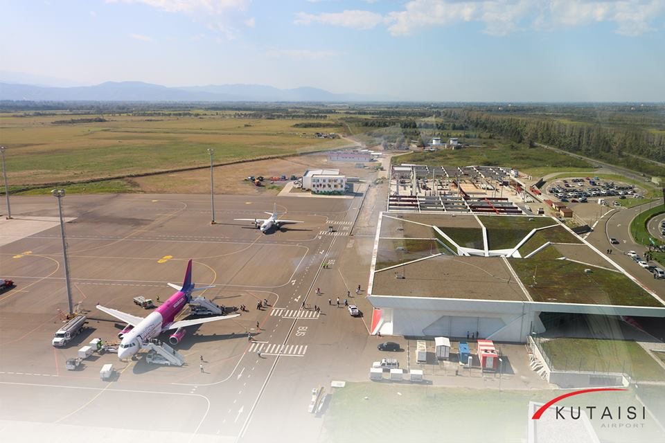 Kutaisi Airport 1 #новости авиасообщение, Будапешт, Вена, Вроцлав, Кутаисский аэропорт