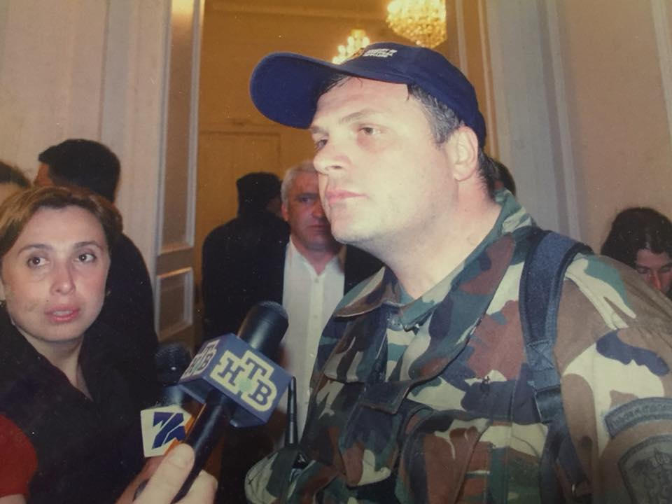 Giorgi Baramidze 2 #политика 2003, 23 ноября, featured, Бидзина Иванишвили, Георгий Барамидзе, Грузия, Михаил Саакашвили, Нино Бурджанадзе, революция, Революция роз