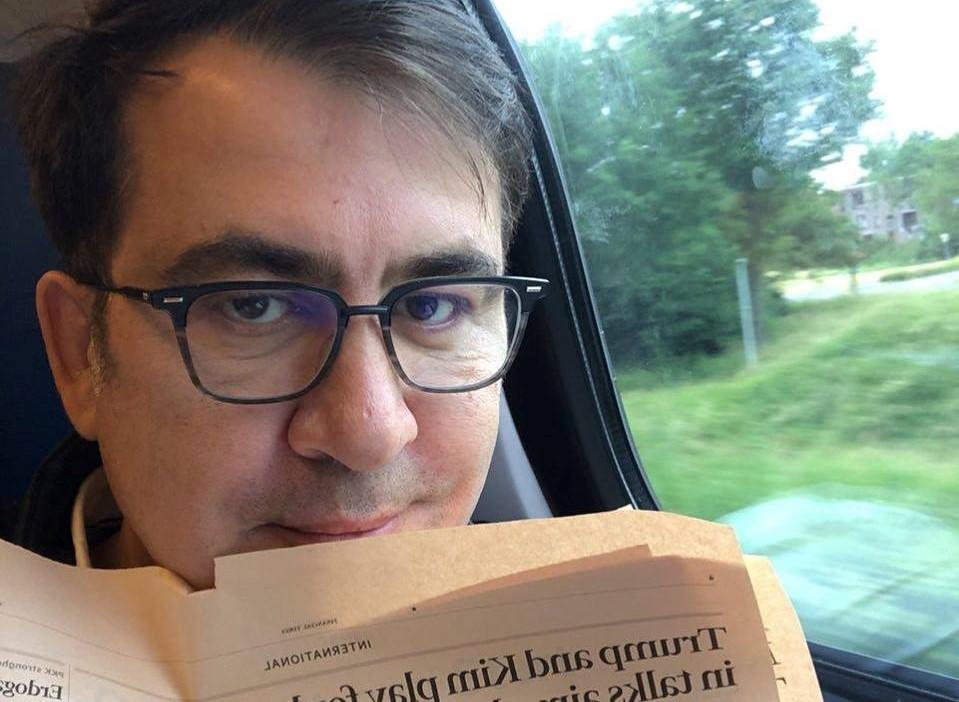 Mikhail Saakashvili 44 мигранты мигранты