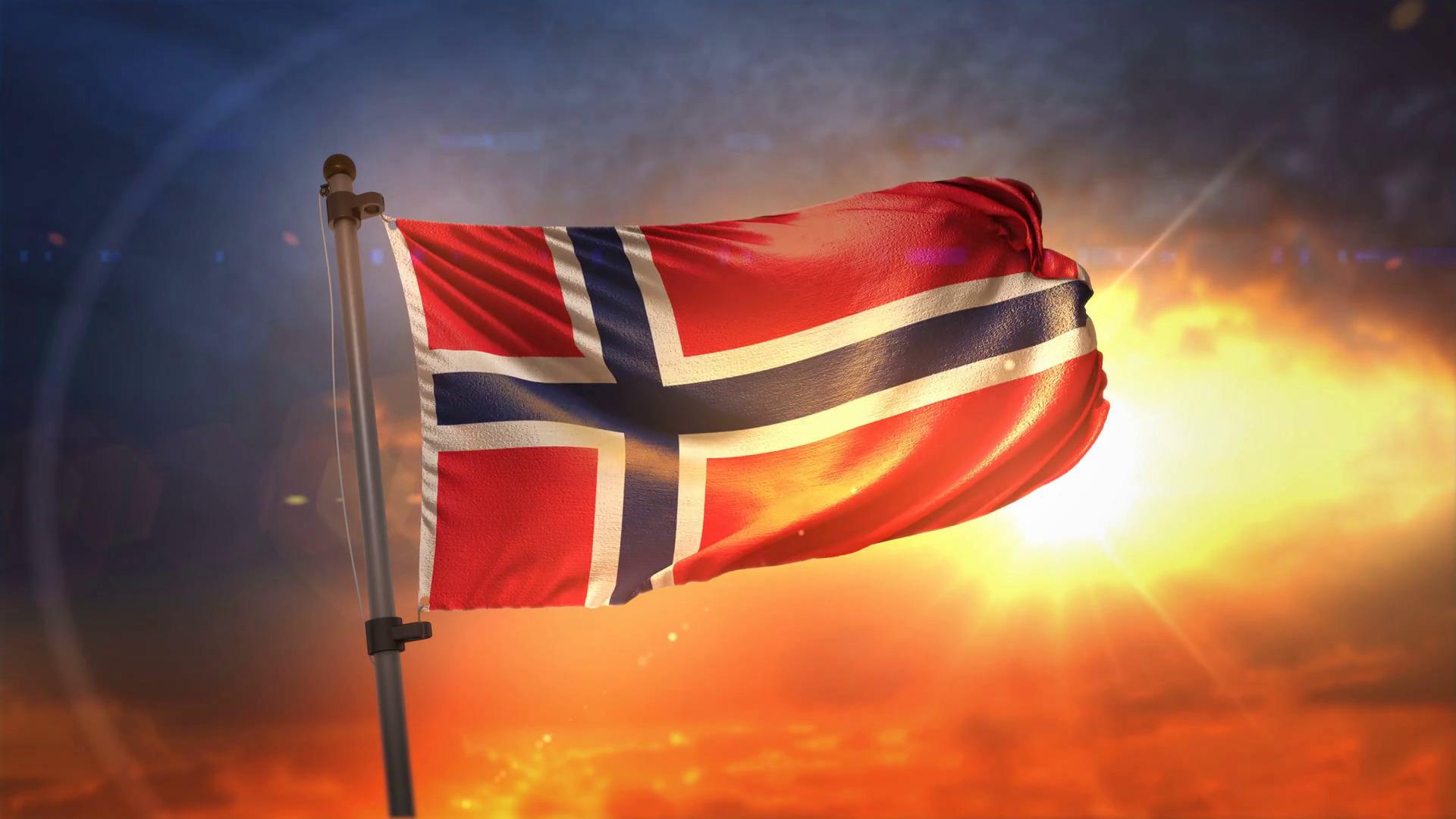 Norway Flag #новости Грузия, День Конституции Норвегии, Норвегия, Осло