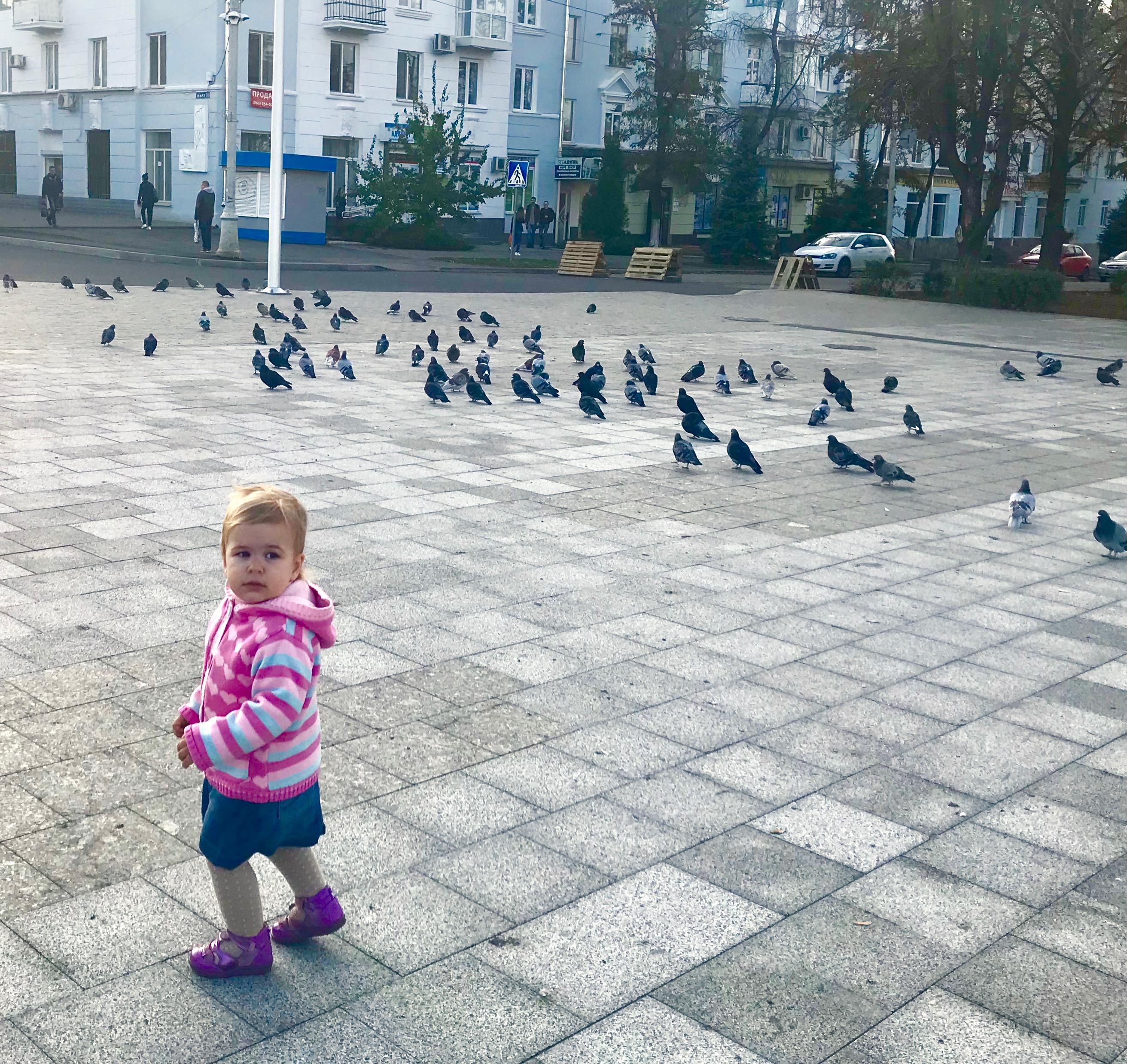 Центральная городская площадь, Краматорск. Фото - Яна Исраэлян