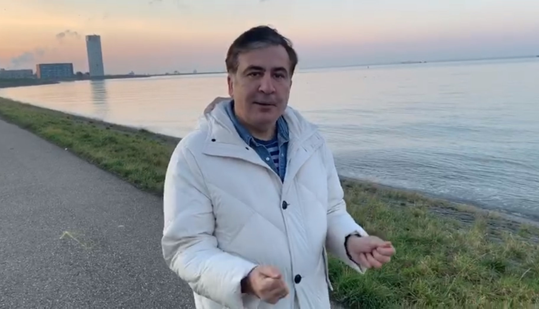 Mikheil Saakashvili 38 эмигранты эмигранты
