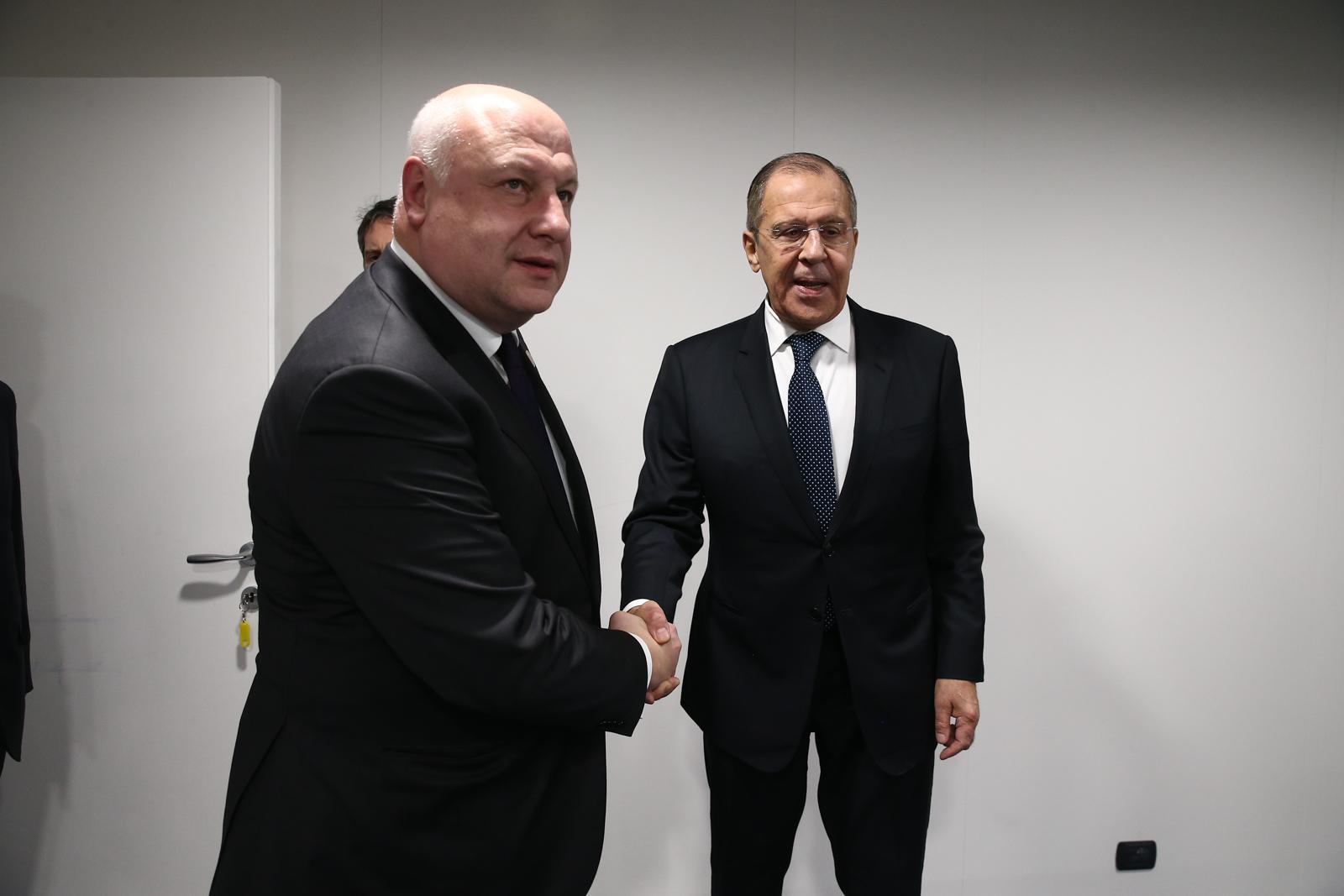 Tsereteli Lavrov 2 Гиги Церетели Гиги Церетели
