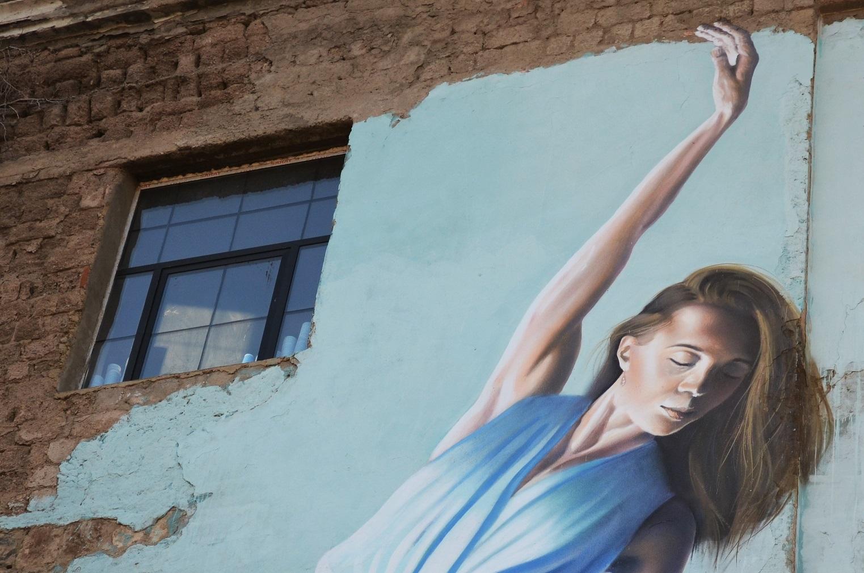 11 #art featured, арт, Бразилия, германия, граффити, Грузия, Дино Бенто, искусство, Лапиз, мурал, Саша Корбан, стрит-арт, тбилиси, украина
