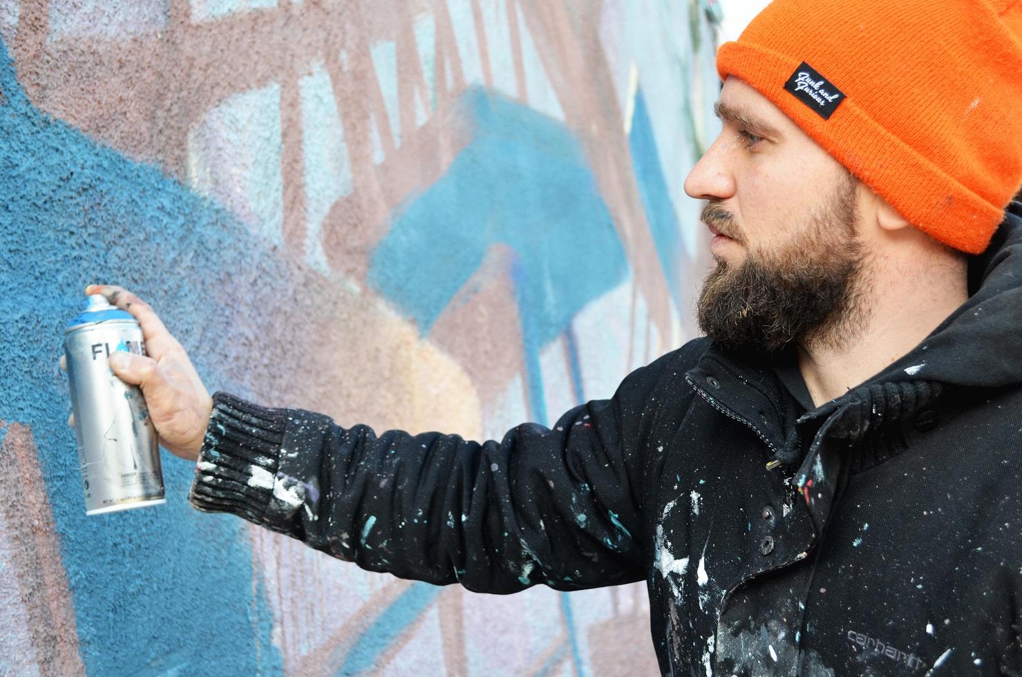 4 1 #art featured, арт, Бразилия, германия, граффити, Грузия, Дино Бенто, искусство, Лапиз, мурал, Саша Корбан, стрит-арт, тбилиси, украина