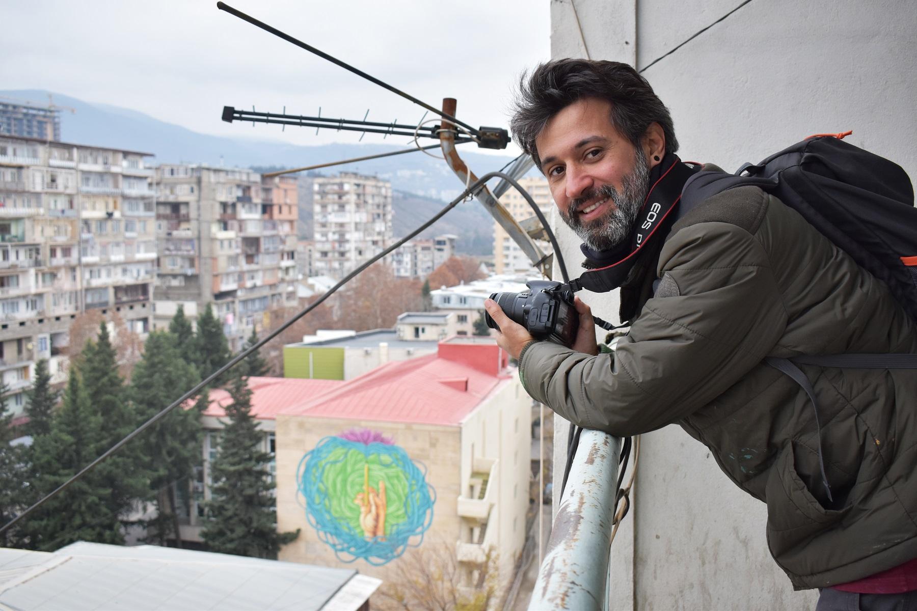 5 #art featured, арт, Бразилия, германия, граффити, Грузия, Дино Бенто, искусство, Лапиз, мурал, Саша Корбан, стрит-арт, тбилиси, украина