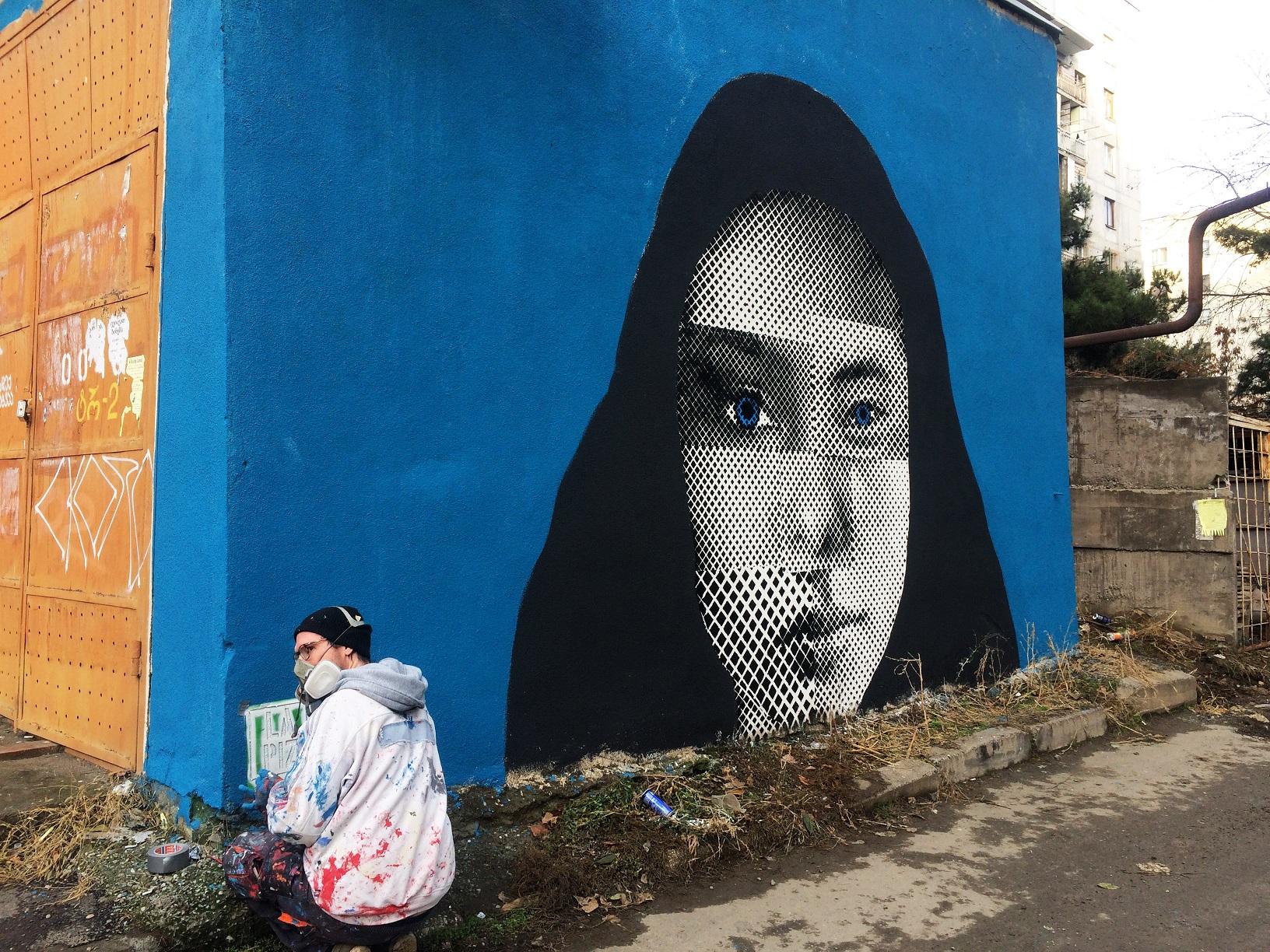 7 #art featured, арт, Бразилия, германия, граффити, Грузия, Дино Бенто, искусство, Лапиз, мурал, Саша Корбан, стрит-арт, тбилиси, украина