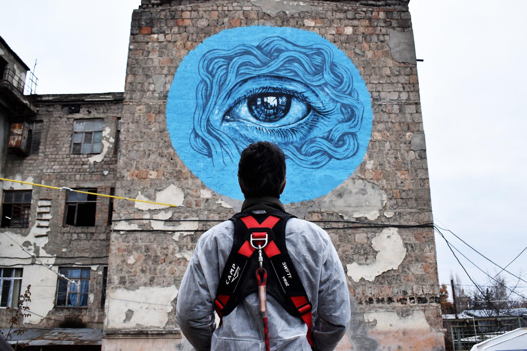 DSC 0386 #art featured, арт, Бразилия, германия, граффити, Грузия, Дино Бенто, искусство, Лапиз, мурал, Саша Корбан, стрит-арт, тбилиси, украина