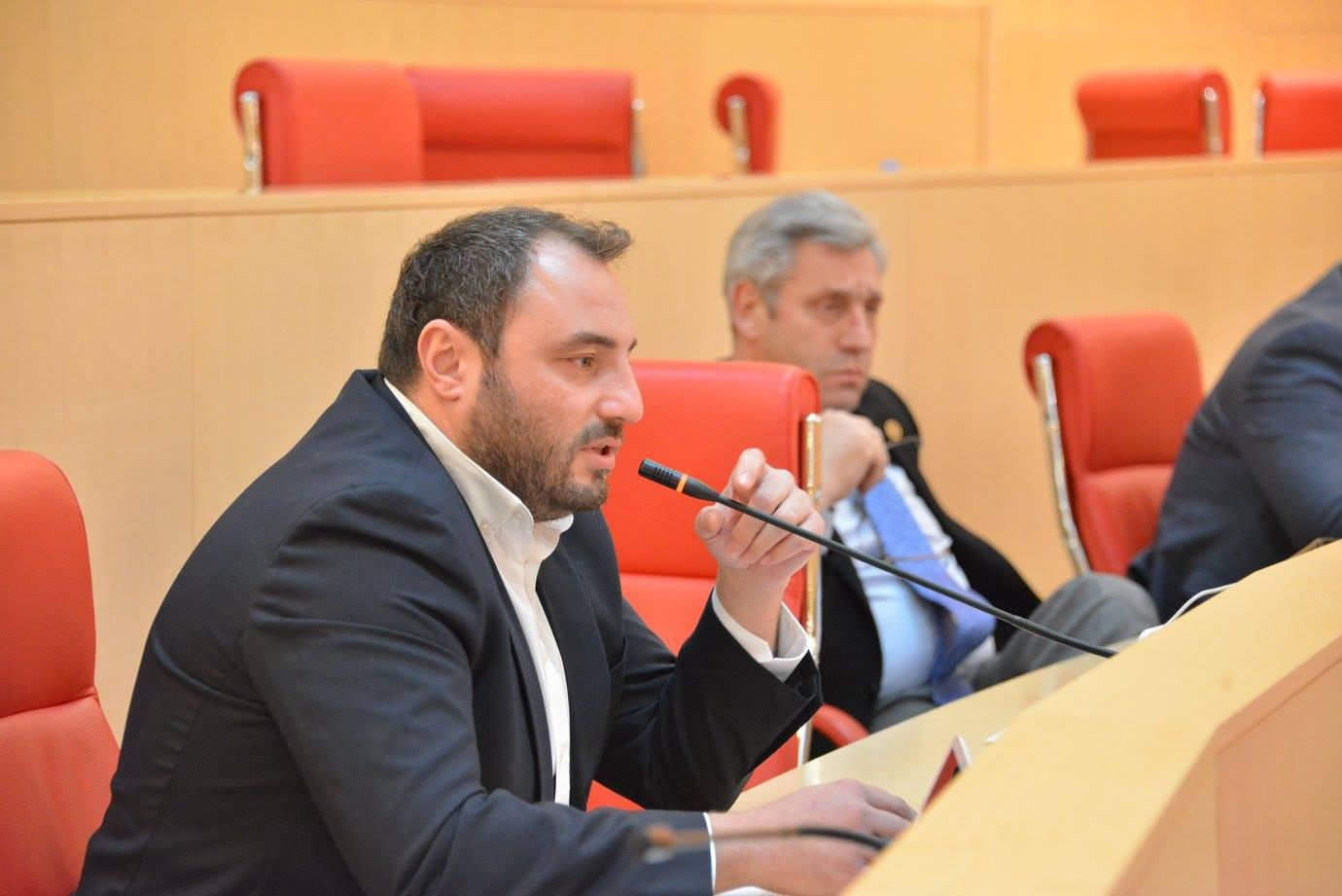 Beka Natsvlishvili заседание заседание