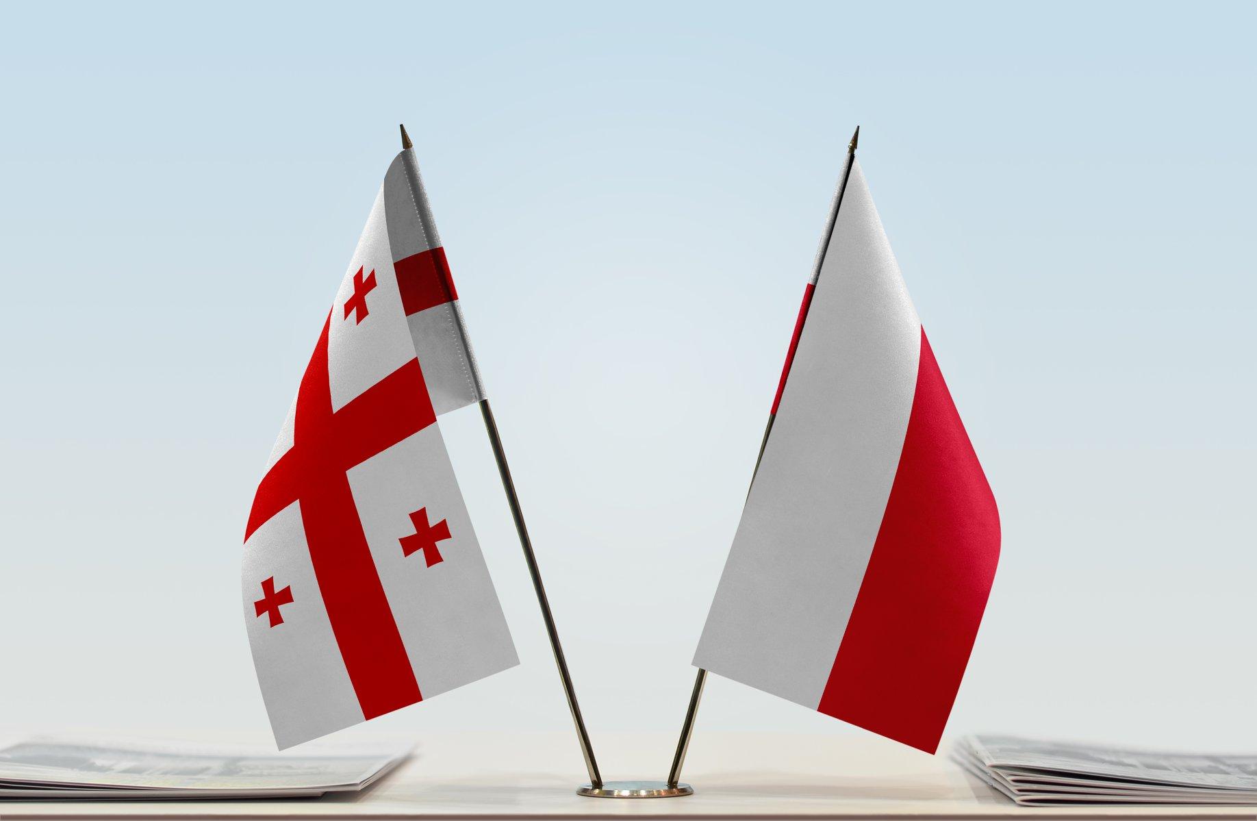 Georgia Poland Flags #новости Анджей Бетлей, Камилла Хиска, Краков, культура, музеи, Национальный музей Кракова, Польша, Польша-Грузия