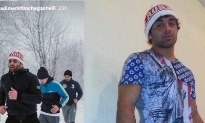 Вольника Квелашвили затравили за надпись на шапке