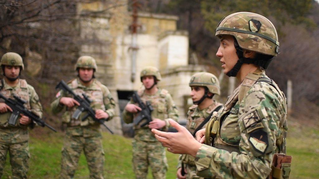jilda 0110 #НАТО featured, Абхазия, Грузия, Джильда Цурцумия, Министерство обороны Грузии, НАТО