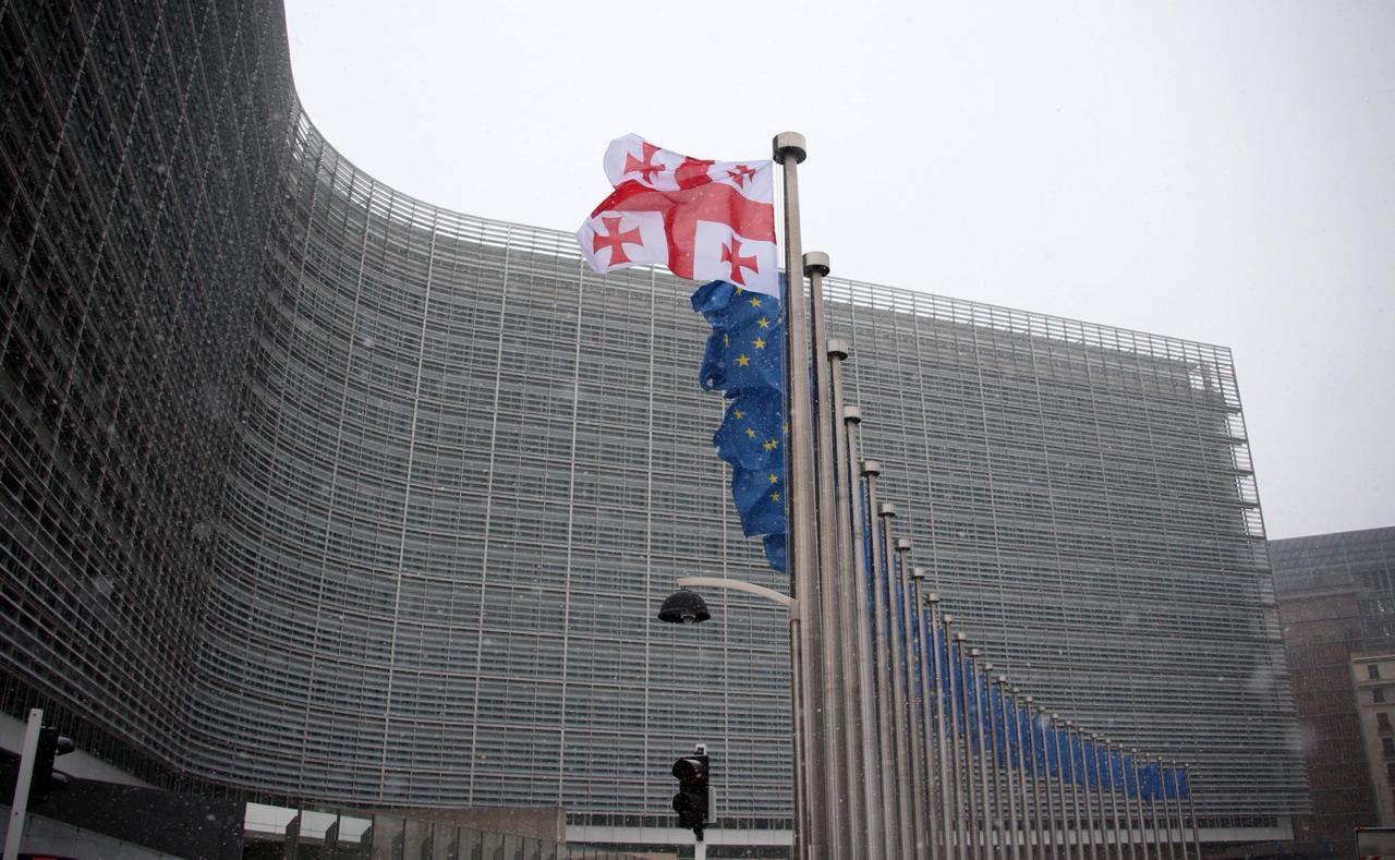 Georgia EU Flags 5 Brexit Brexit