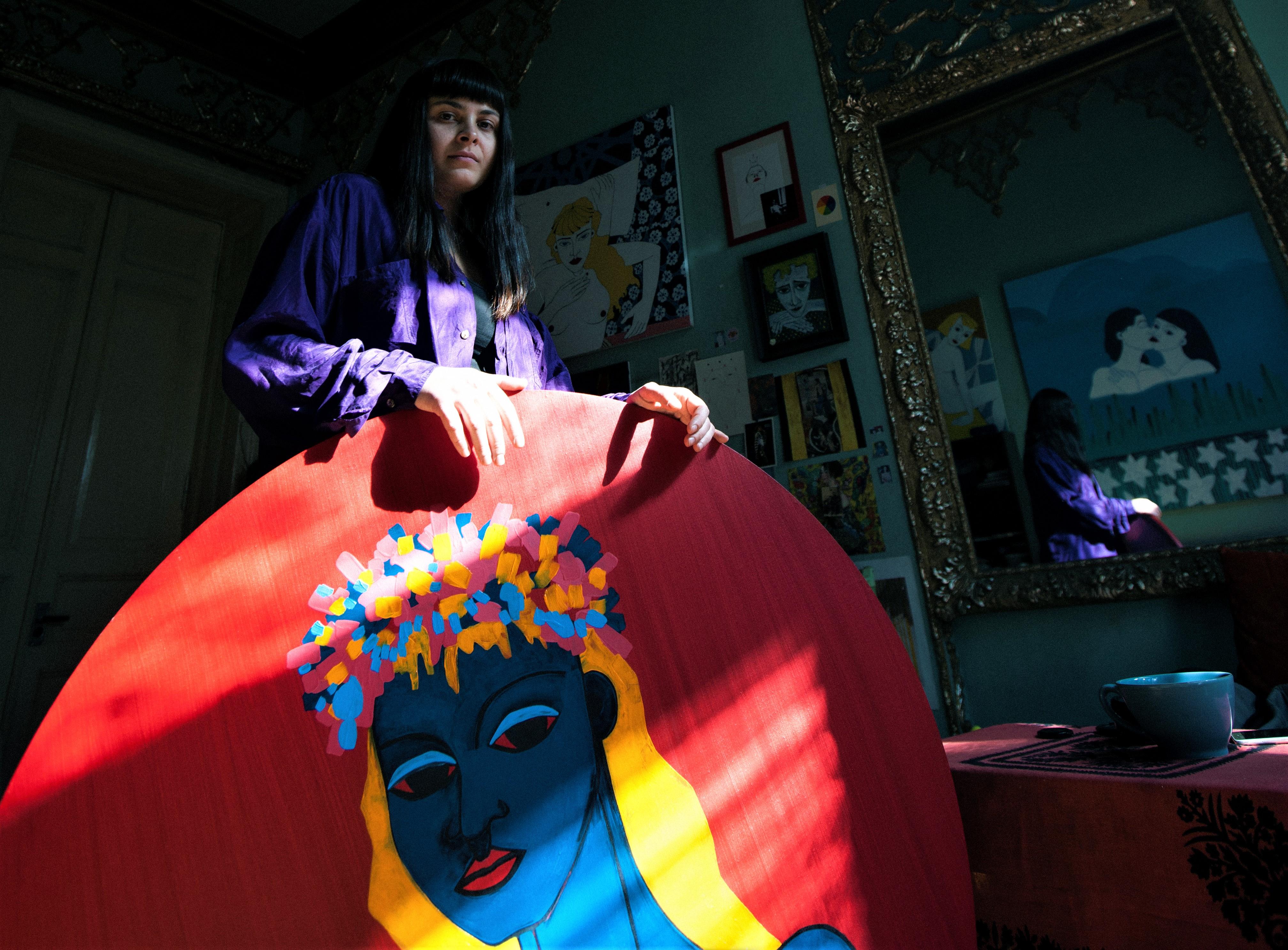 Salome Bauer #art featured, арт, выставка, Грузия, искусство, перформанс, Саломея Бауэр, художница