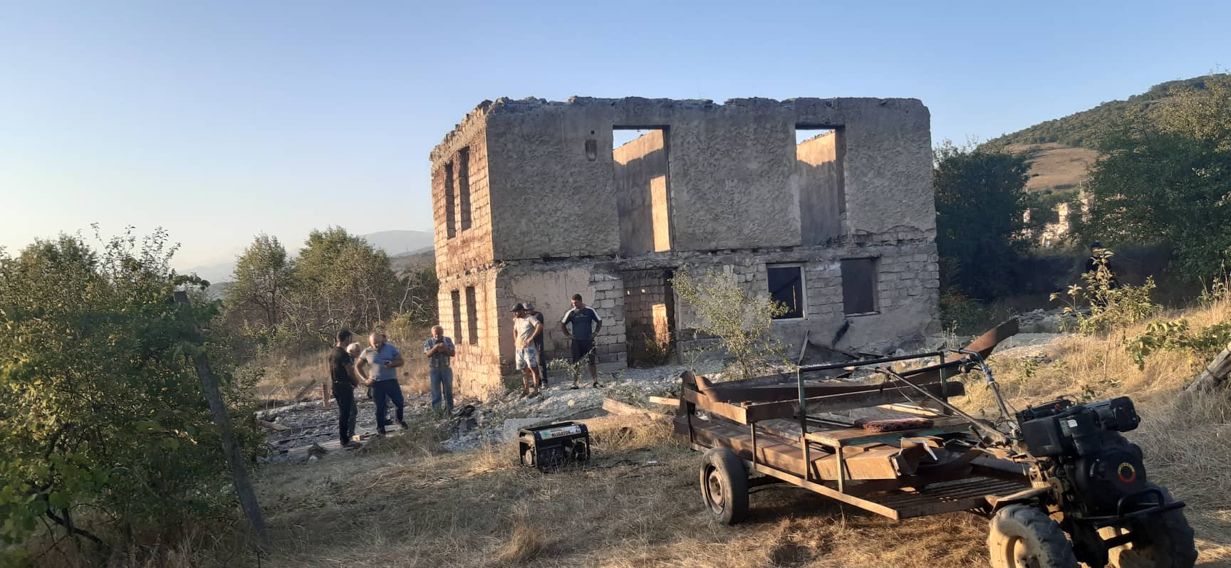 Gugutiantkari 1 #новости Гугутианткари, линия оккупации, Мамука Хазарадзе, оккупационная линия, оккупация