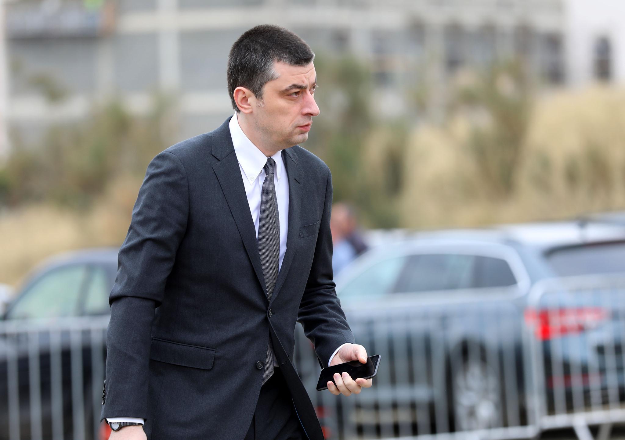 Giorgi Gakharia 31 визит визит