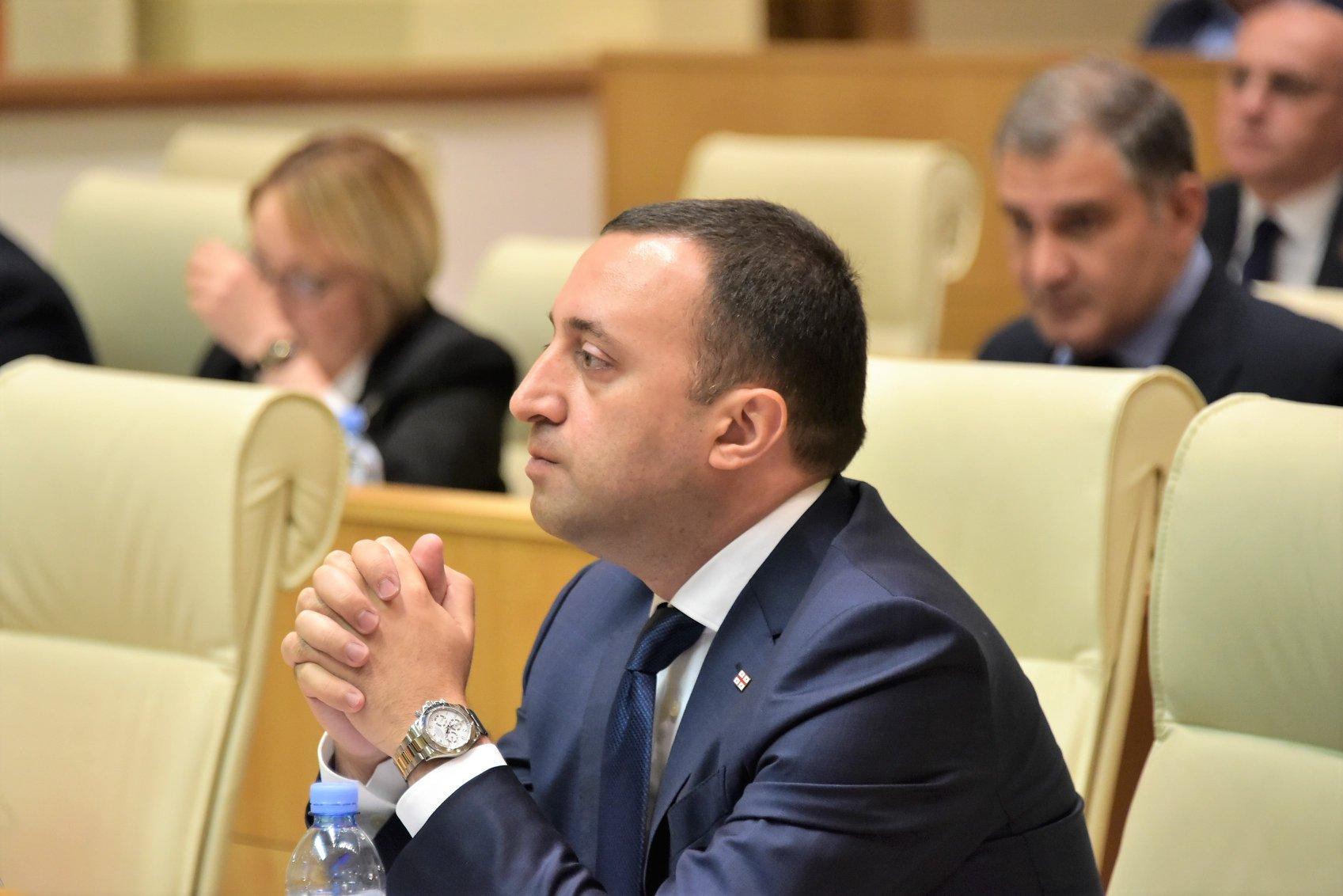 Irakli Gharibashvili 14 #новости Грузинская мечта, Единое Национальное Движение, Ираклий Гарибашвили, кризис Мечты, Революция роз, экономика Грузии