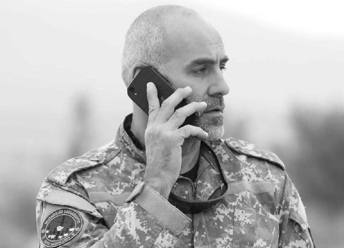 Davit Katsarava линия оккупации линия оккупации