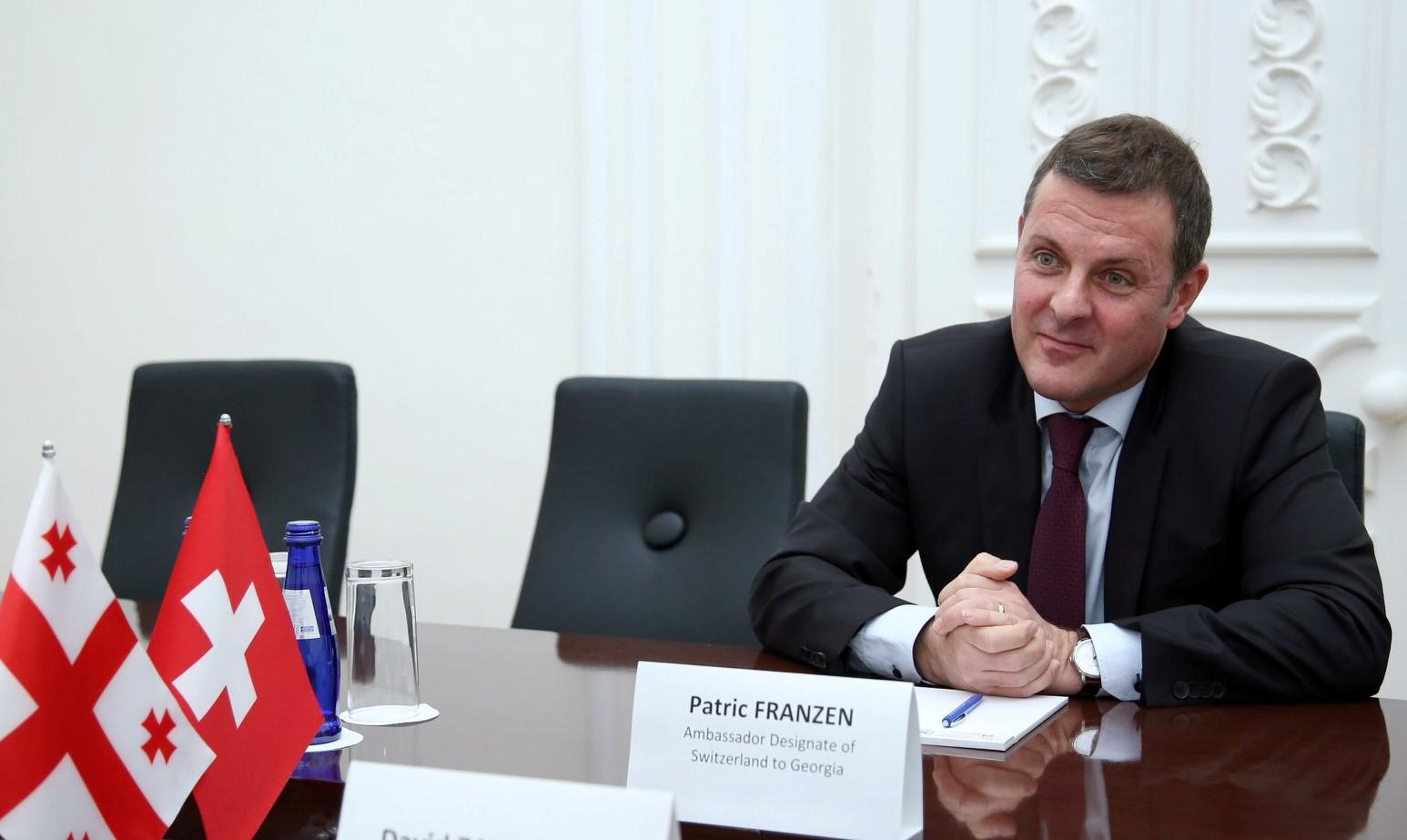 Patric Franzen грузино-российские отношения грузино-российские отношения