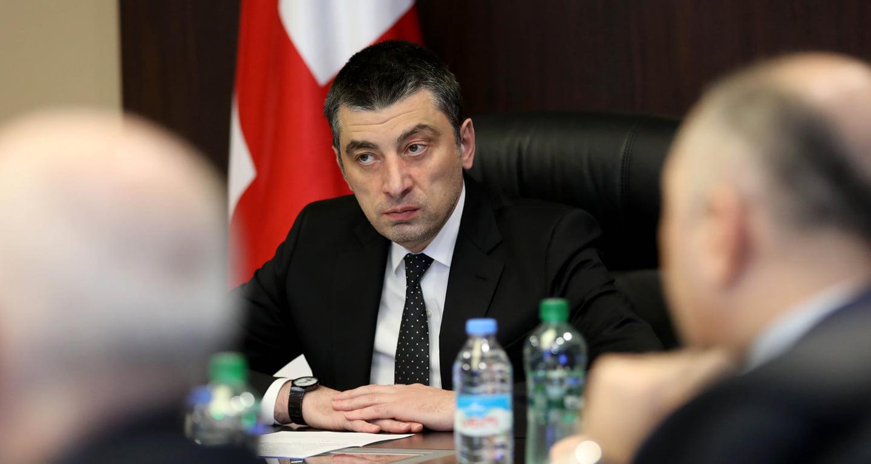 Giorgi Gakharia 18 1 #новости коронавирус, коронавирус в Грузии