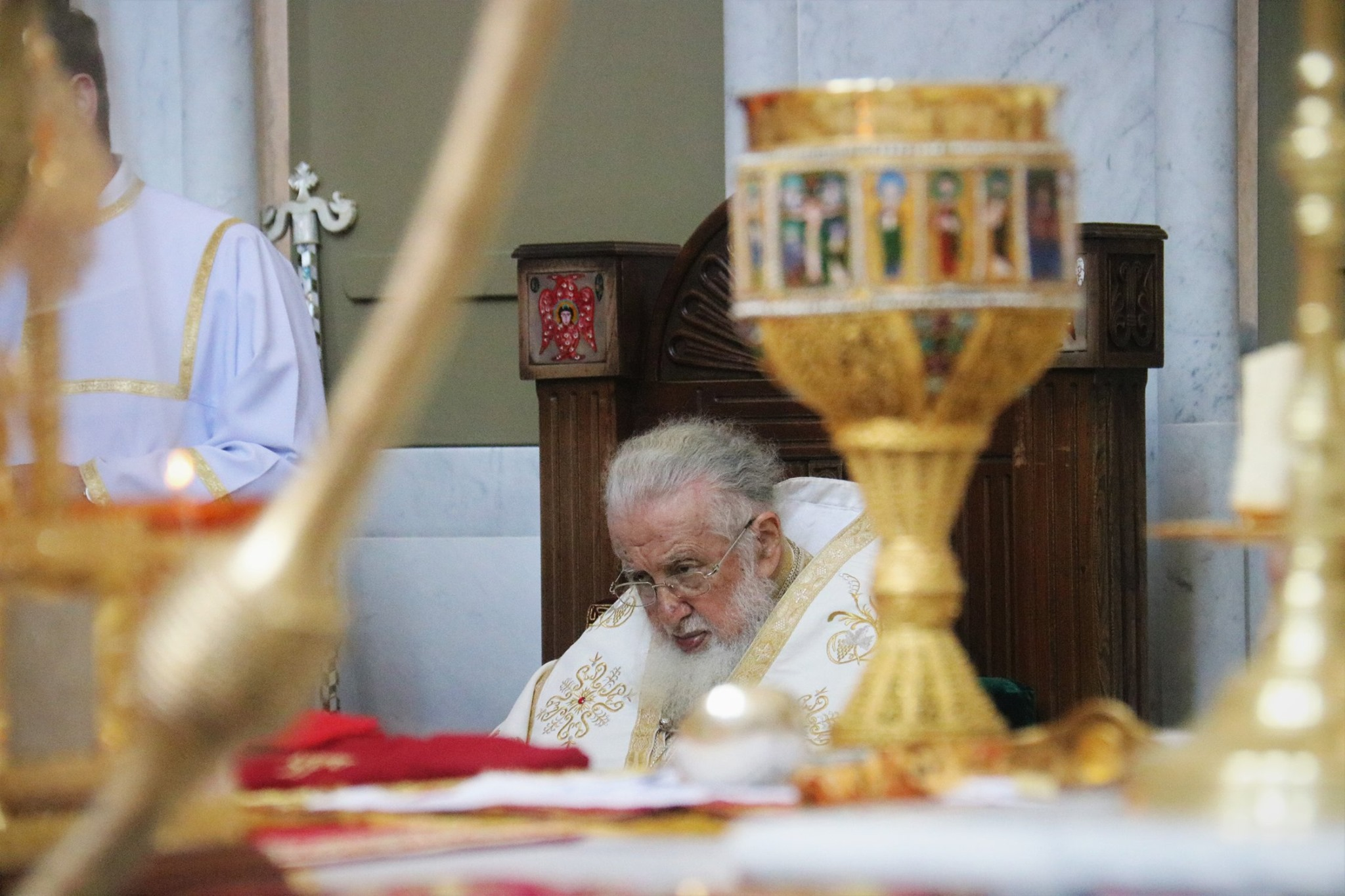 Ilia II 17 #новости Грузинская Православная Церковь, Илия Второй, СГБ Грузии