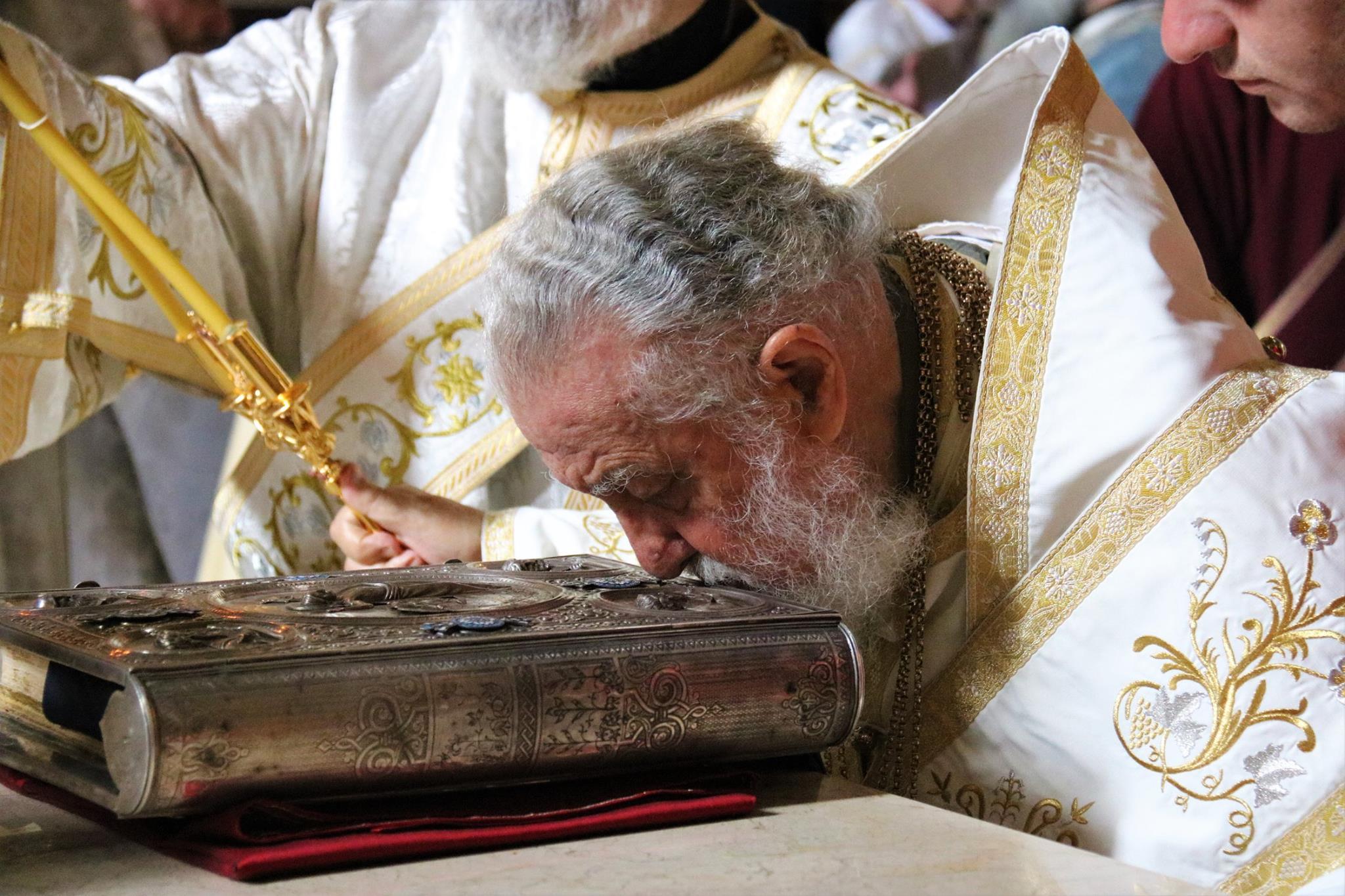 Ilia II 18 #новости ГПЦ, Илия Второй, Католикос-Патриарх всея Грузии, Пасха