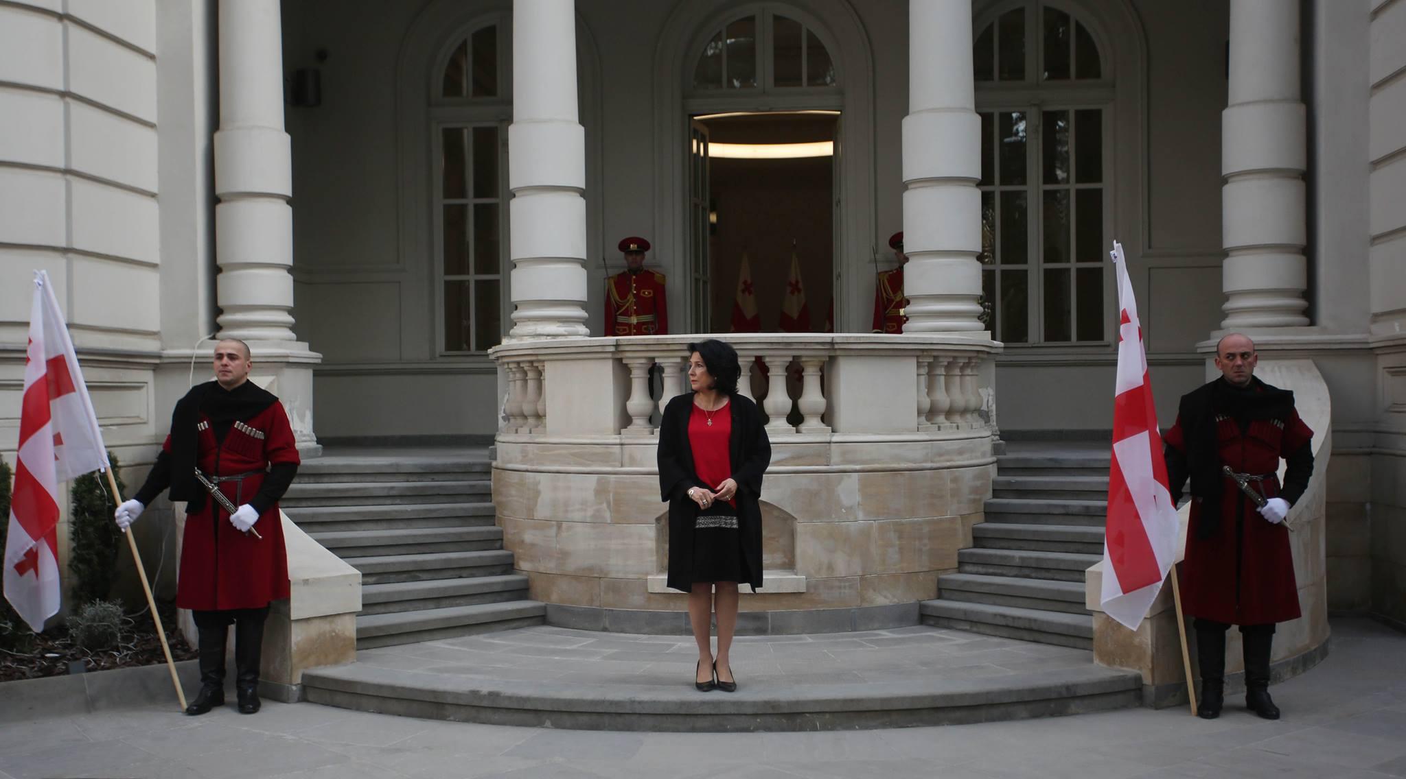 Salome Zourabishvili Residence #новости Саломе Зурабишвили